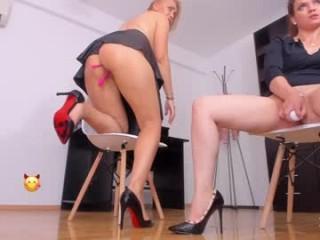 bad__babe Sinfully brunette cumshow slut in stockings gets skinny snatch hammered
