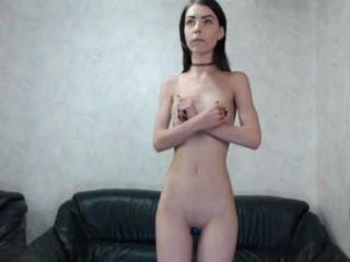 emmabraun Giant boobed doing cumshow goddess fucking a massive glass dildo
