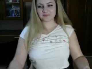 zek369i Radiant blonde cumshow via cam in pink stockings getting anally humped by a big dick