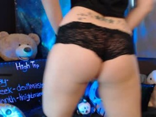 midnightpixie Curly haired brunette squirted jumping her boyfriend`s hard dick