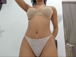 sasha_collins Sweet long haired cumming Eve showing her big tits and sucking a massive phallus