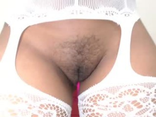 rutt_leidy Sweet long haired cumming Eve showing her big tits and sucking a massive phallus