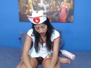 ayelen19 Black haired squirted vixen gets smashed doggy by her boyfriend