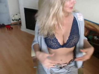 squirtmilfpussy Cheering blonde squirted babe stripping her mini skirt and rubbing her pussy online