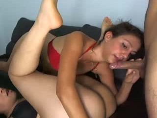 the_doggy_style Irresistible brunette cumming Flavia getting sexy ass licked and fucked hard