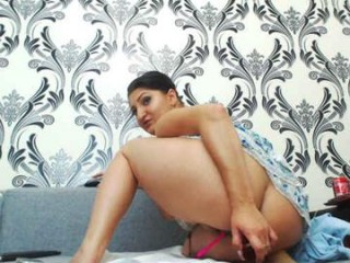 farradayy Big titted brunette cumshow whore gives blowjob on her knees