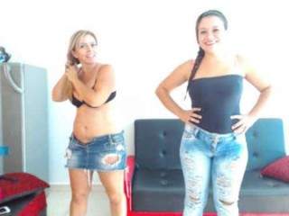 tiago_hannah Platinum cummed on webcam gives blowjob in 69 position and slurps hot seed outdoors