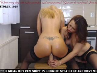 dare_to_love_ Ravishing brunette schoolgirl gf Chantal riding anally an enormous cock