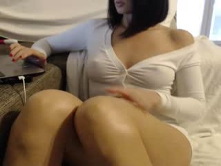 sexycat34 Long haired cumming Lira gives blowjob and jumps a massive penis
