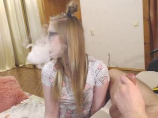 5sunshine Dusty haired squirting vixen plays with her nipples and gets anally hammered