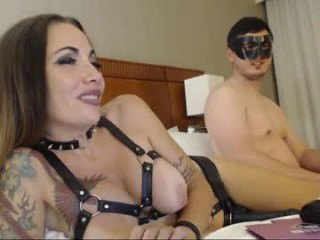 mizxtrix Two stunning cummings licking their wet pussies in the kitchen