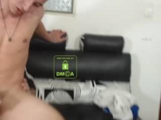 alexandluke Tattooed cummed Marketa licks a big dick head for warm cum