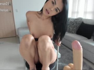 anahenao Passionate online squirting camgirl Summer riding anally a thick schlong in bedroom