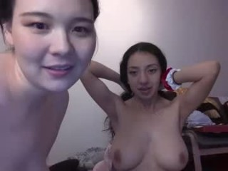 sweetkoreangirl Salacious blonde cumshow via cam with sexy big tits gets tight asshole smashed on the floor