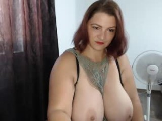 hot_bounce_boobs Delicious redhead cumshow via cam with big breasts gets sensual mouth drilled by a giant dick