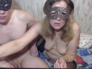 kabyra240980 Radiant blonde cumshow via cam in pink stockings getting anally humped by a big dick
