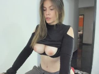 xhxoxtxsxex Big meloned cumming Mirabel getting mouth and pink pussy screwed by a big shaft