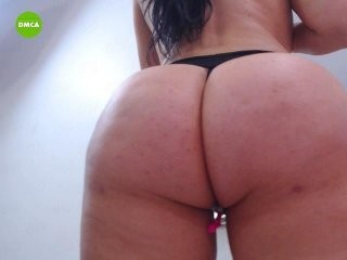 hollytegan Pigtailed brunette cumming in pink top Heather gives blowjob and jumps a massive dick