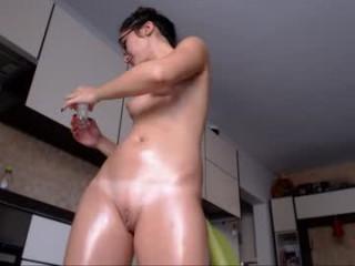 pink92 Spirited blonde cumshow bitch spreads legs and gets anally screwed by an immense schlong