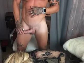 goddessjennafoxx Naughty blondie squirted strips and fingers her wet muff